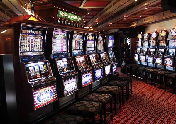exploring a casino